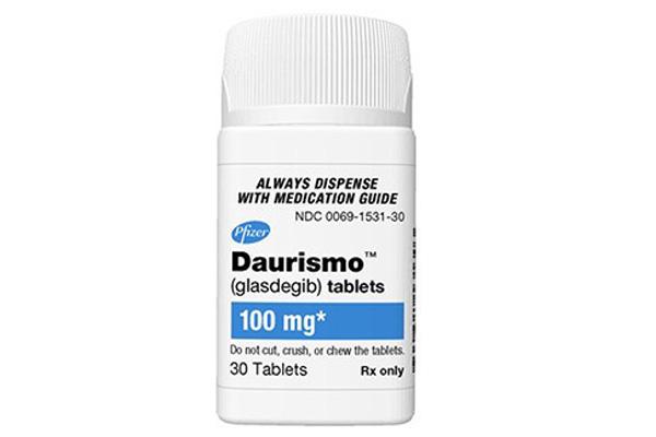 Biệt dược Daurismo (Glasdegib) tablets.