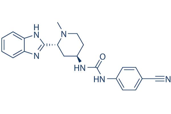 Công thức cấu tạo phân tử Glasdegib.