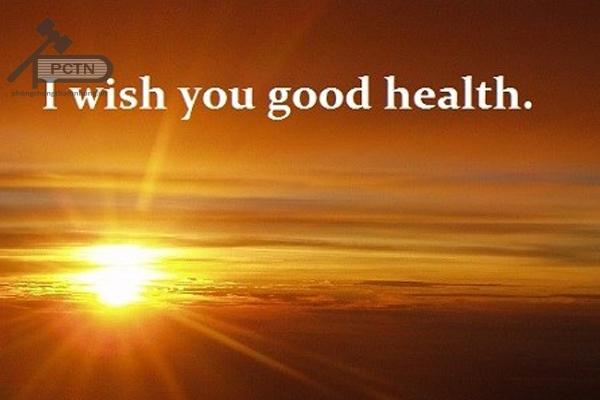 lời chúc sức khỏe cho người bệnh