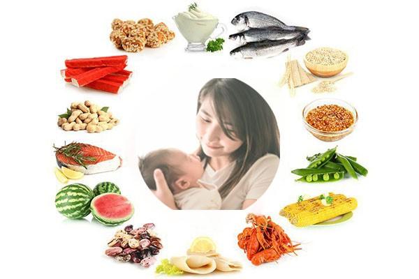 Thực phẩm bổ sung trong mâm cơm cho chị em khi kiêng cữ