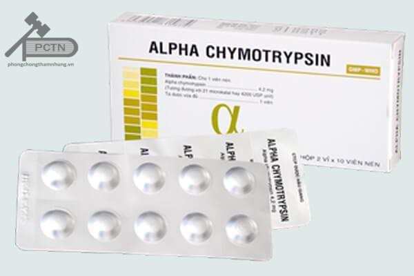 ThuốcAlphachymotrypsin - Hậu Giang