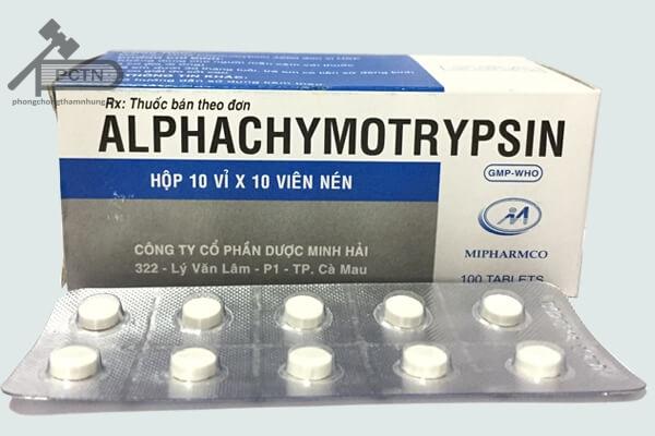 ThuốcAlphachymotrypsin - Mipharmco