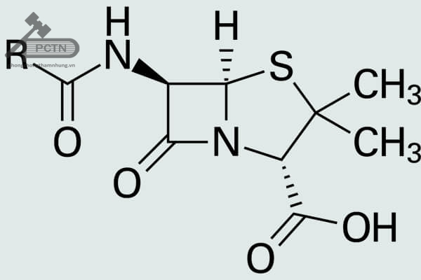 Công thức cấu tạo tổng quát các Penicillin