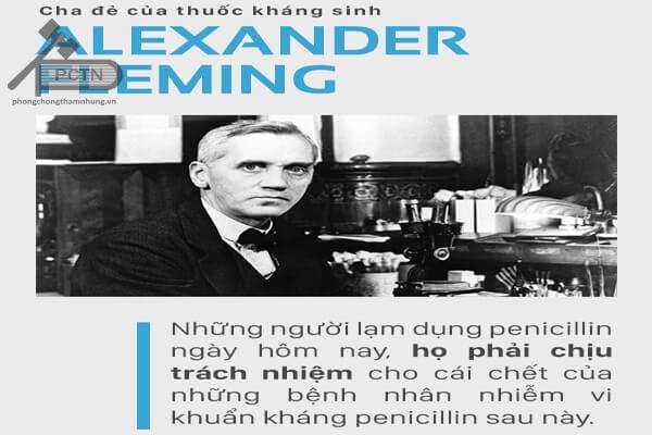 Lời cảnh tỉnh từ Alexander Fleming về vấn đề lạm dụng kháng sinh