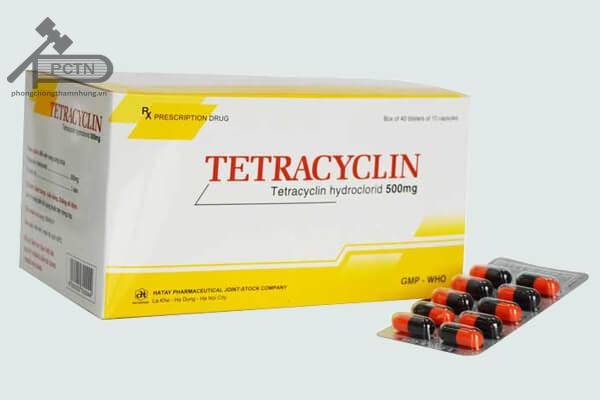 Kháng sinh Tetracyclin rất dễ tạo phức chelate