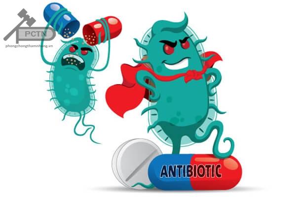 Thực trạng kháng kháng sinh