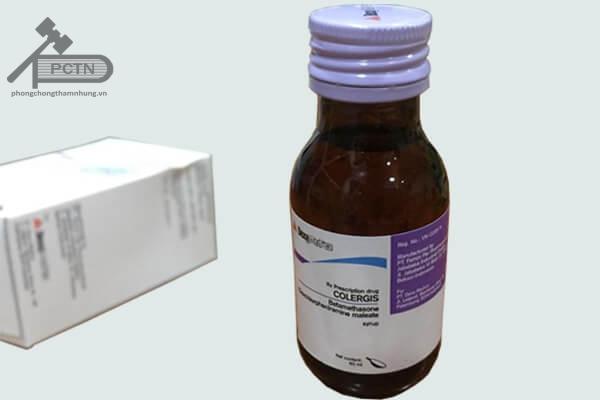 Thuốcho colergis