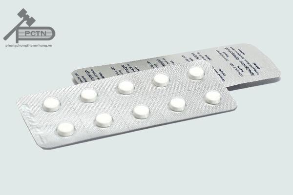 Thuốc Alphachymotrypsin vỉ 10 viên