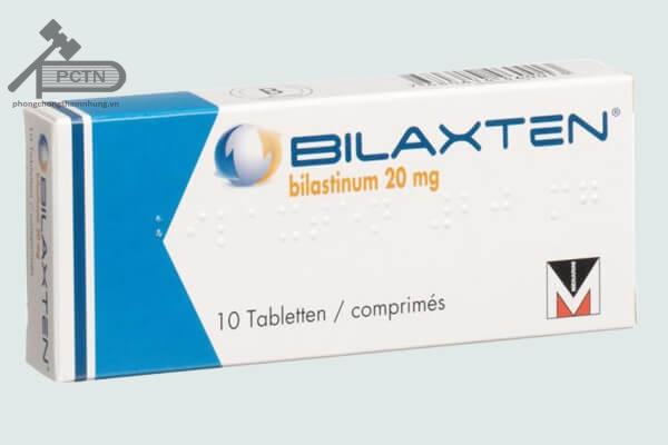 Hộp thuốc Bilaxten 20mg