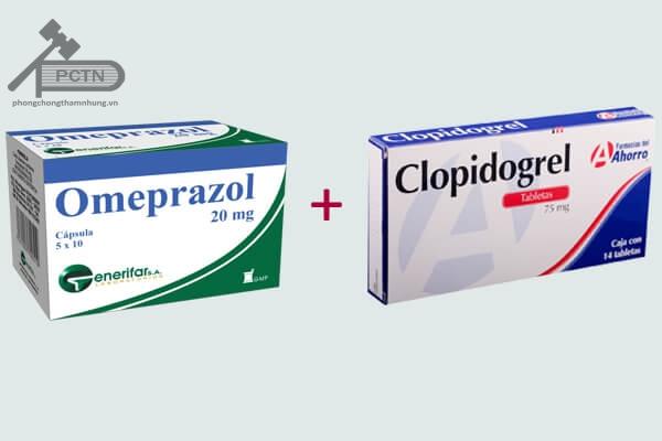Không nên kết hợp Clopidogrel + Omeprazol