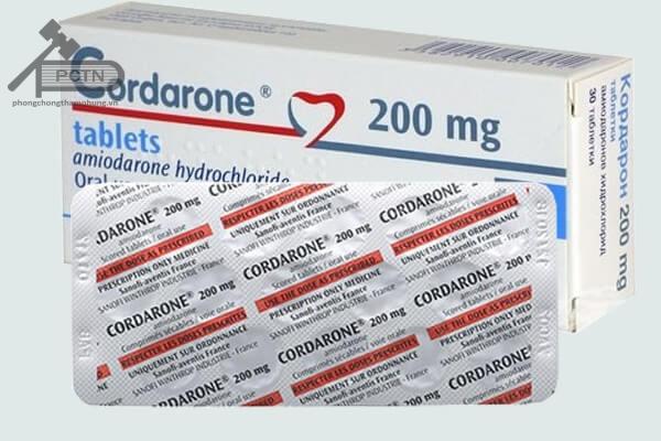 Thuốc Cordarone
