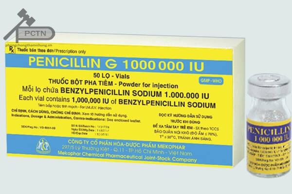 thuốc Benzylpenicillin VCP 1 MUI
