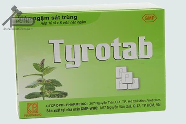 Thuốc ngậmTyrotab