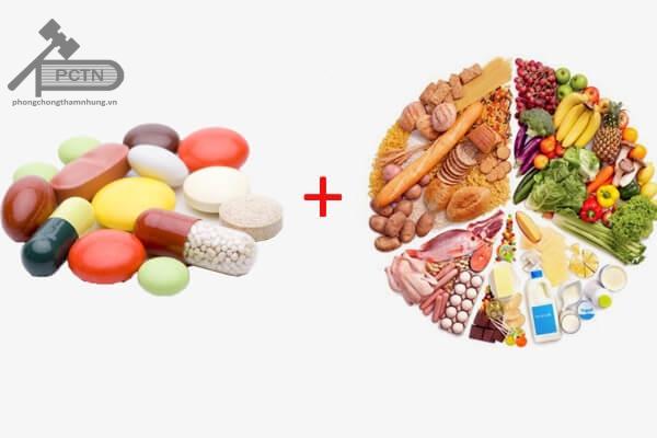 Tương tác thuốc và thức ăn