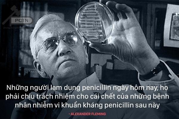 Alexander Fleming cảnh báo mọi người về sự lạm dụng kháng sinh