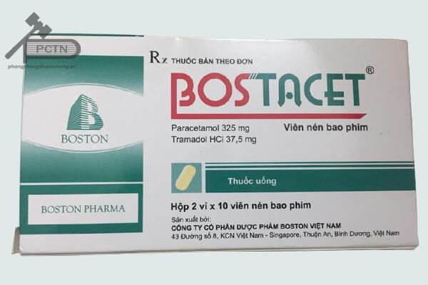 Hộp thuốc Bostacet