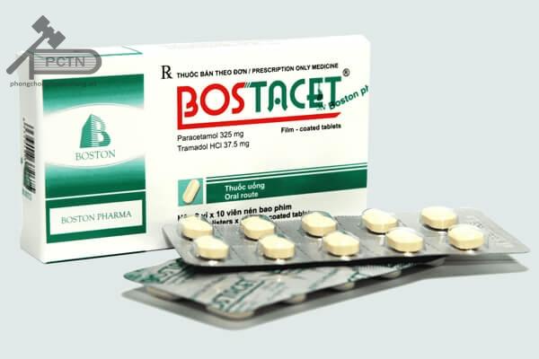 Bostacet có tác dụng giảm đau