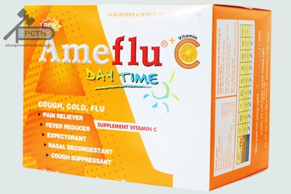 Thuốc New ameflu day time + C