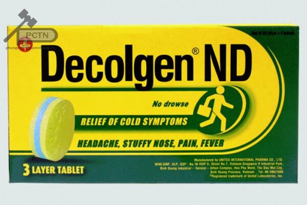 Thuốc Decolgen ND