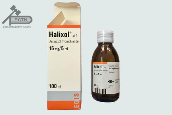 Thuốc Halixol siro