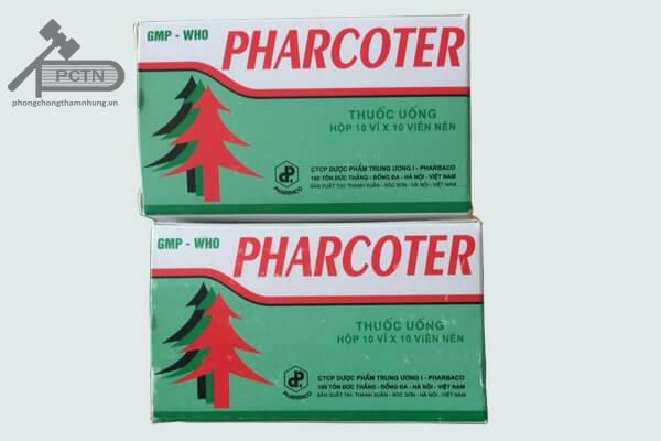 tác dụng phụ của thuốc Pharcoter