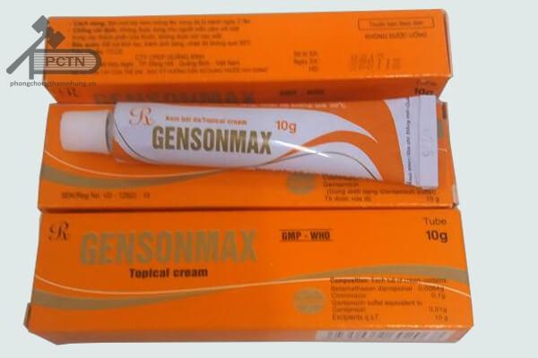 Thuốc điều trị nấm gensonmax