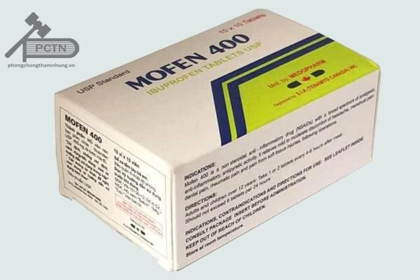 Thuốc giảm đau kháng viêm mofen 400