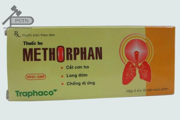 Thuốc trị bệnh ho methorphan