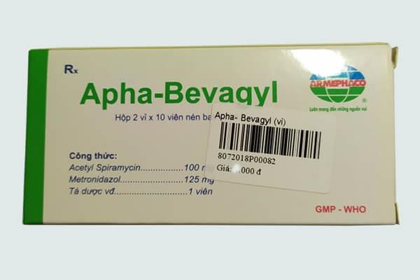 Thành phần thuốc Apha bevagyl