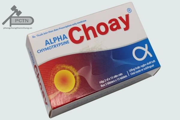 Thuốc kháng viêm Alpha choay