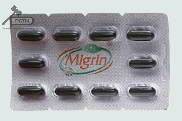 Vỉ thuốc Migrin