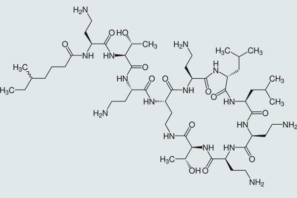 Công thức cấu tạo colistin
