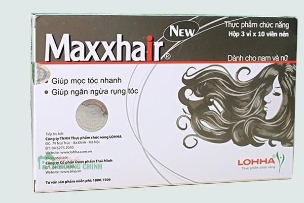 Hộp thuốc maxxhair new