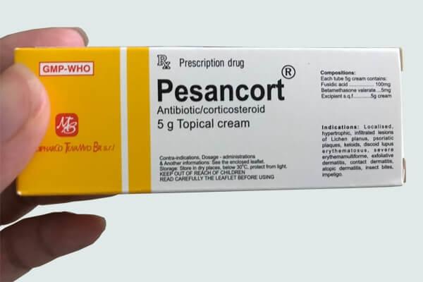 Hộp thuốc pesancort