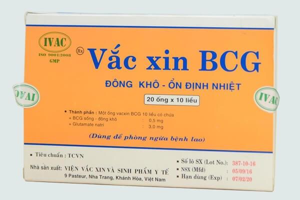 Vắc xin BCG