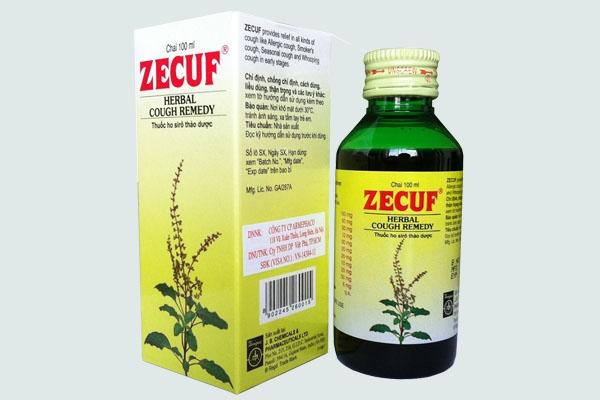 Hộp thuốc Zecuf