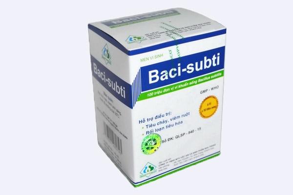 Hộp thuốc  Baci subti