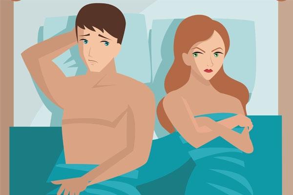 Vợ chồng lục đục do chồng xuất tinh sớm