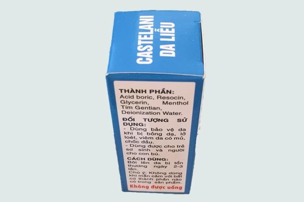 Thành phần của thuốc Castellani