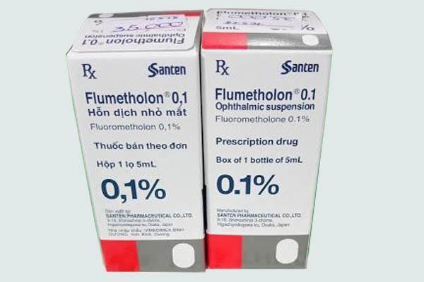 Thuốc Flumetholon 0.1%