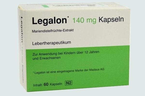 Hộp thuốc Legalon 140