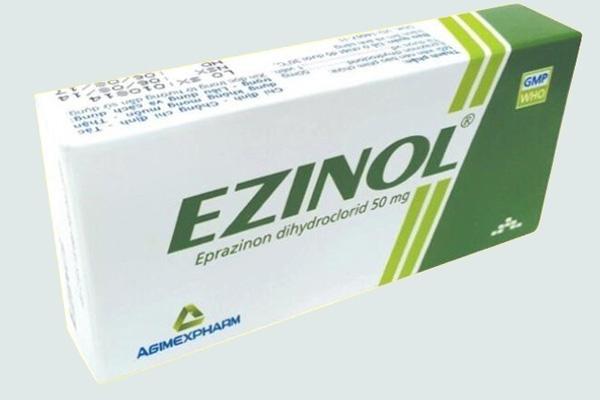 Hộp thuốc Ezinol