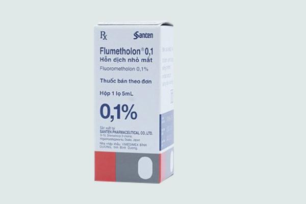 Hộp thuốc Flumetholon