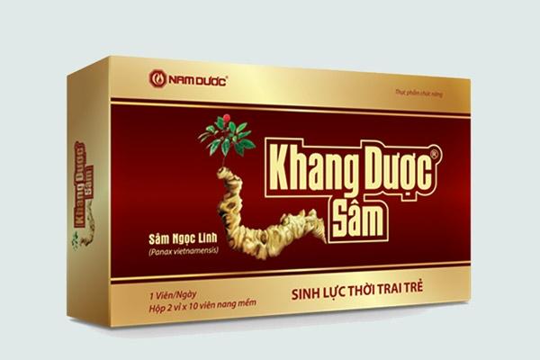 Hộp thuốc Khang dược sâm