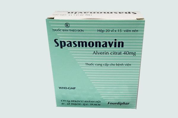 Hộp thuốc Spasmonavin