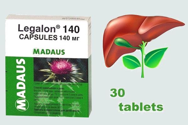 Legalon 140 tốt cho chức năng gan