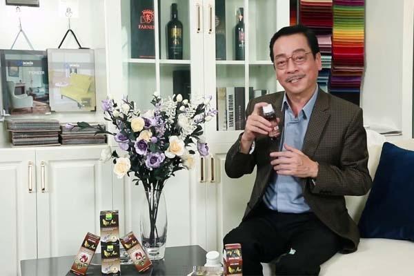 Nghệ sĩ nhân dân Hoàng Dũng chia sẻ về sản phẩm an phế mộc an