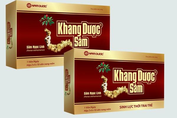 Thuốc Khang dược sâm