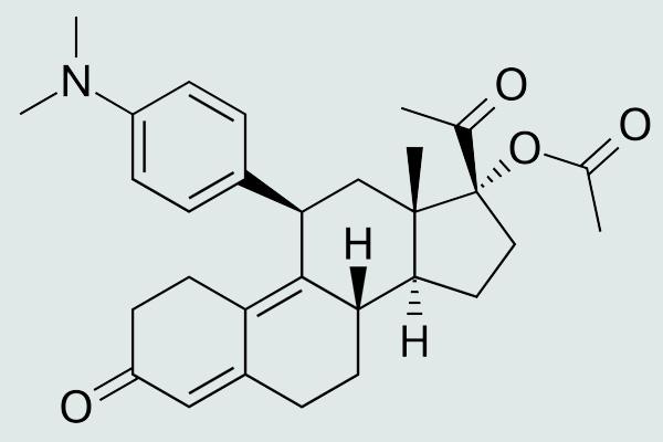 Công thức hóa học của Uliprital