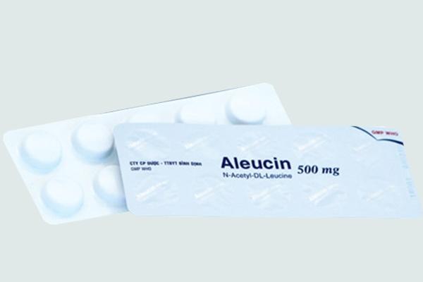 Vỉ thuốc Aleucin
